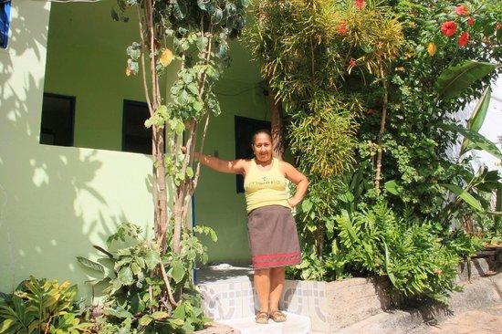 Pousada da Lurdinha:                   Lurdinha and her B&B