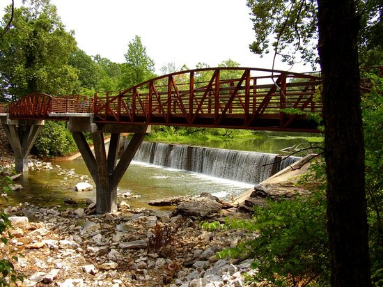 Lake Fayetteville Trail is the one of the most popular of Parks and Recreation