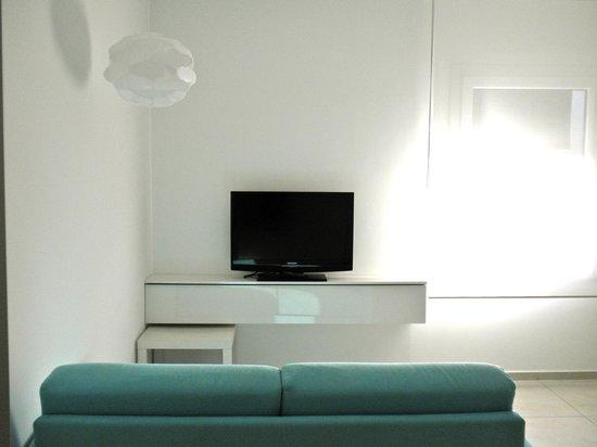 AvianResidenze Suites :                   angolo del salotto