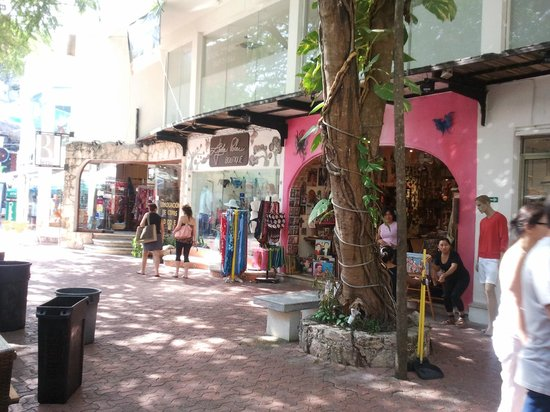 Mayan Palace Riviera Maya:                   Shopping, 5th Ave, Playa del Carmen