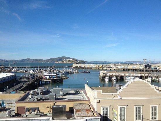 Argonaut Hotel, A Noble House Hotel: notre vue depuis la chambre 455 Queen-Queen View Bay