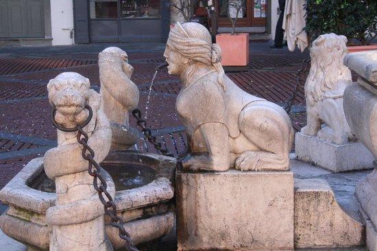 Fontana Contarini:                   sfinge