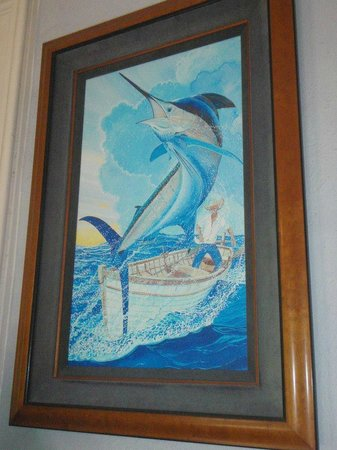 Old Man And The Sea Painting In The Home Picture Of The