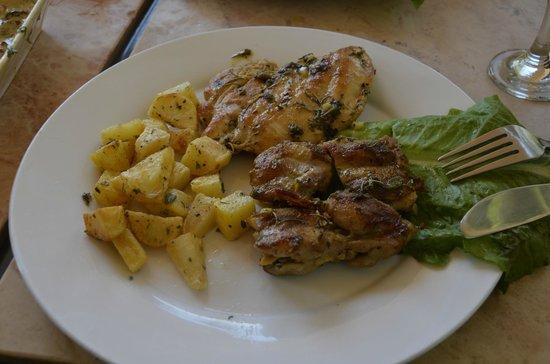 Pella Rest House:                   Chicken