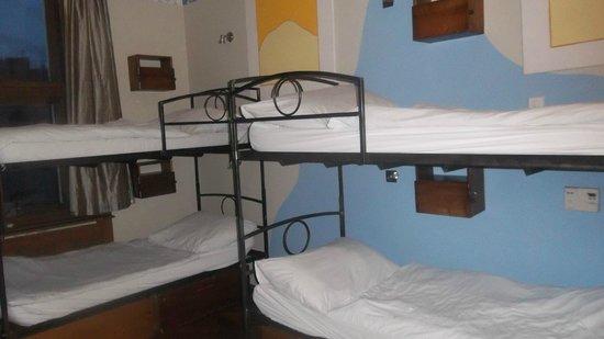 Sir Toby's Hostel:                   Pokój, w którym nocowałam