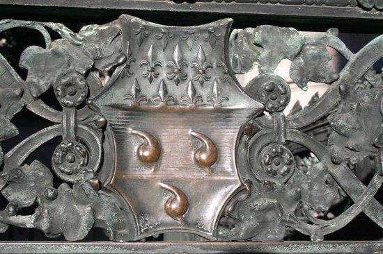 Cappella Colleoni : stemma colleoni
