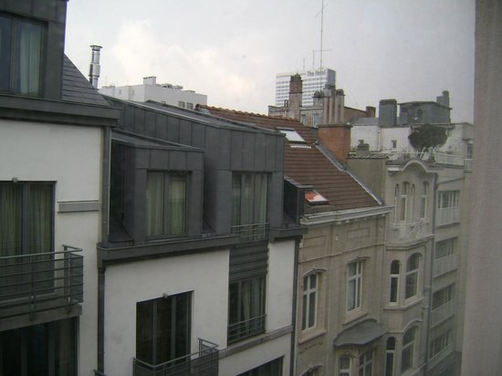 NH Brussels Stephanie:                   View from my room