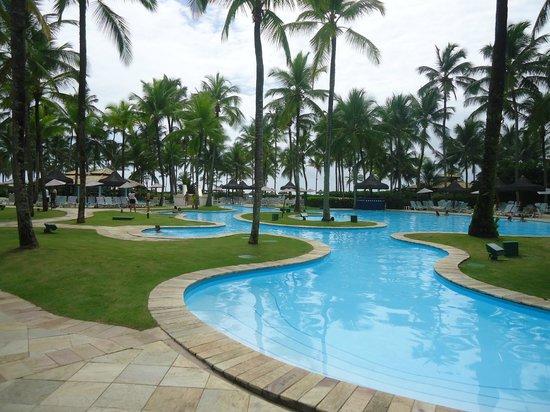 Hotel Transamerica Ilha de Comandatuba:                                     Área de lazer
