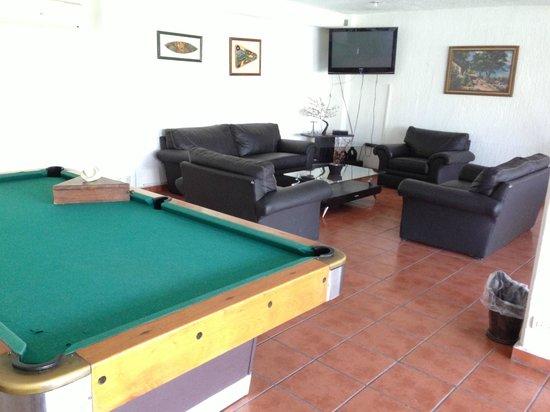 Hotel Iguanas: Salón de Juegos