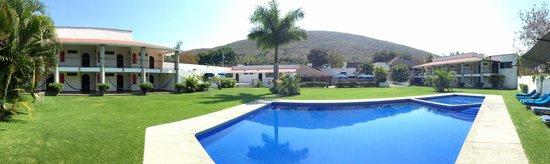 Hotel Iguanas: Panorámica