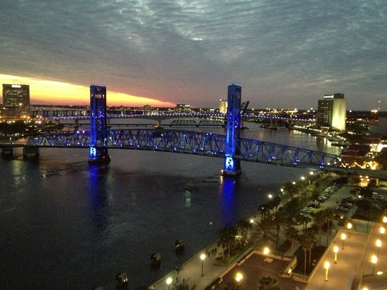 Hyatt Regency Jacksonville Riverfront:                                     Gorgeous View