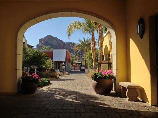 Omni Scottsdale Resort & Spa at Montelucia:                   beautiful view of Camelback Mountain