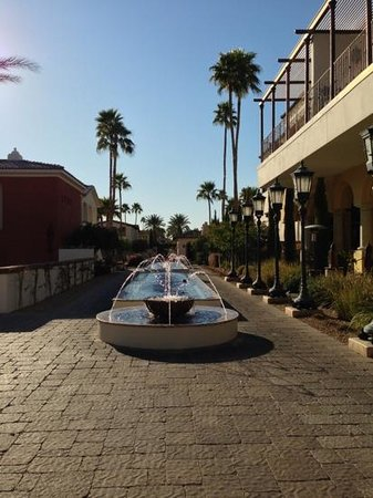 Omni Scottsdale Resort & Spa at Montelucia:                   fountains galore