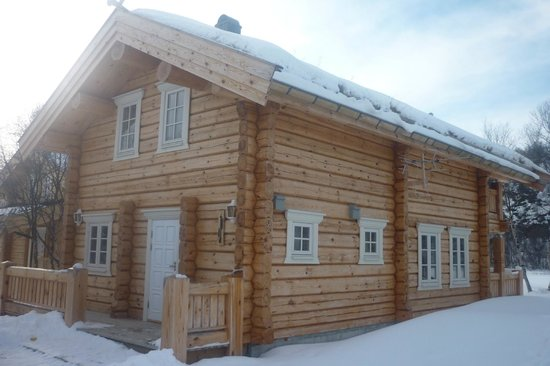Lakselv, Norway:                   Our cottage