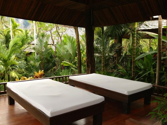 Ao Nang Phu Pi Maan Resort & Spa:                   Outdoor spa