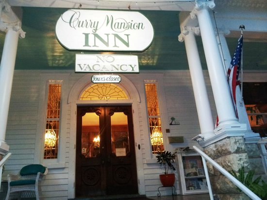 Amsterdam's Curry Mansion Inn:                   The front of the main inn