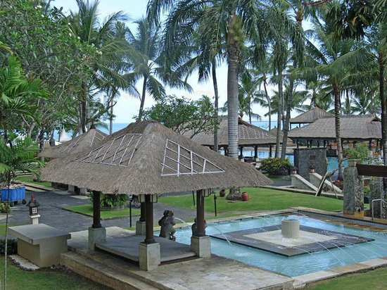 INTERCONTINENTAL Bali Resort:                   中庭