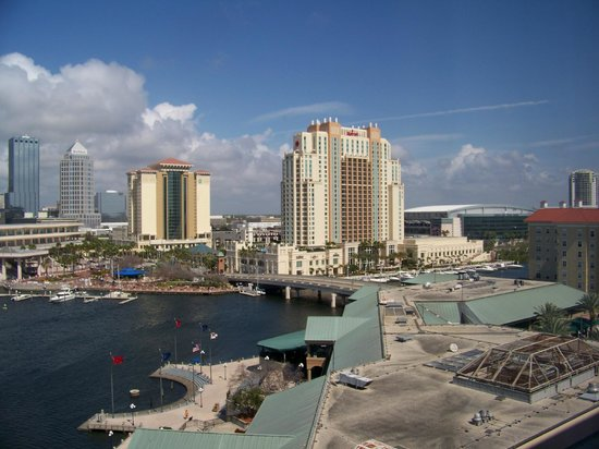 The Westin Tampa Waterside:                   View