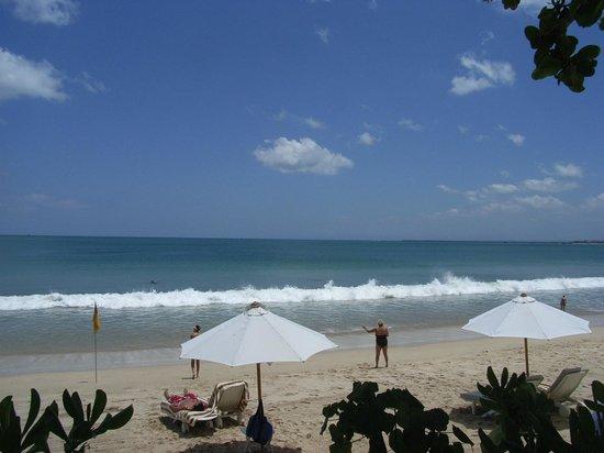 INTERCONTINENTAL Bali Resort:                   プライベートビーチ