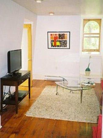 "Absolute 1000 Islands Suites: Apart-suite "" Loft "" living room"