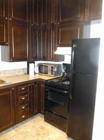 Le Petit Chateau Haldimand:                   Kitchen