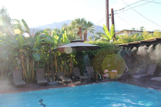 Hotel California:                   Lovely pool area