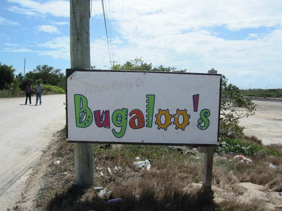 Bugaloo's:                   Turn left when you see the sign