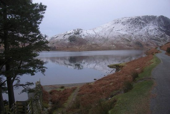 Brookfield B&B :                   December View of Buttermere
