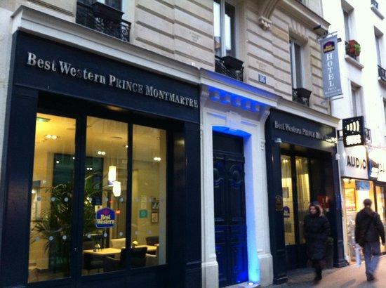 BEST WESTERN Prince Montmartre:                   ingresso hotel