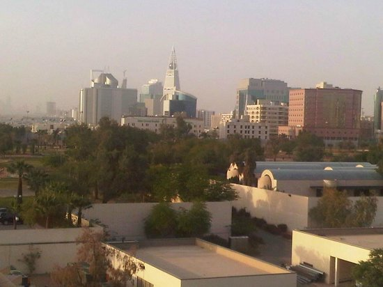 InterContinental Riyadh: view from the club lounge