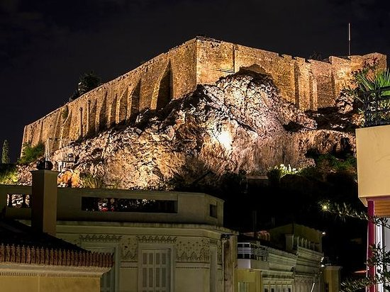 AVA Hotel Athens: Room 302 balcony view: Acropolis