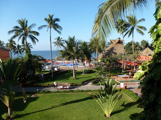 Royal Decameron Complex:                   View from my room