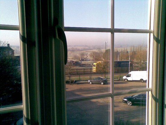 Quality Hotel Coventry:                   View from room
