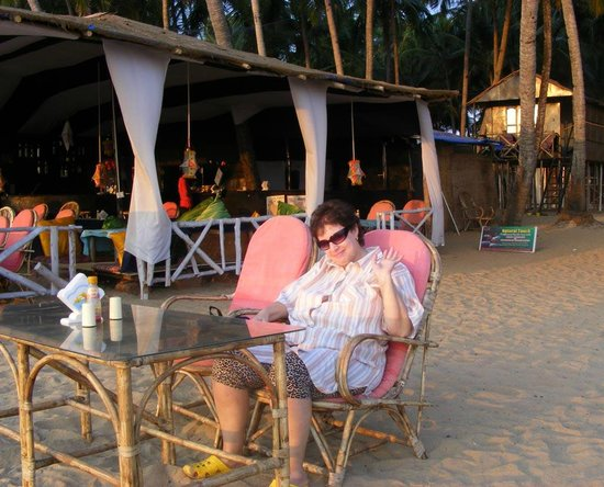 Agonda Paradise:                   the Restaurant view