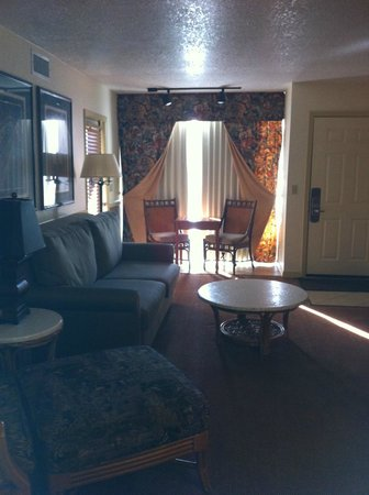 Parkway International Resort:                   Living Room
