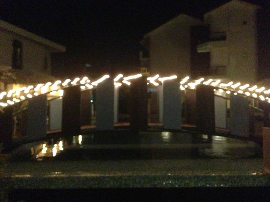 Citrus Goa:                   night view on the pool