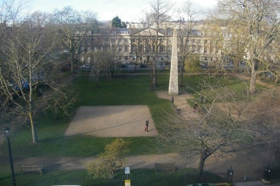 فرانسيس هوتل باث - مجاليري كولكشن:                   View from bedroom window                 