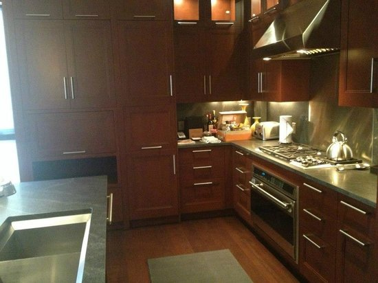 Solaris Residences:                   Did some damage in this kitchen