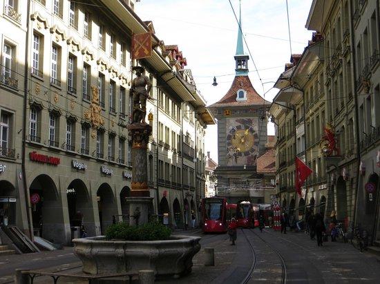 Old Town Bern :                   Bern, Old Town (Altstadt)