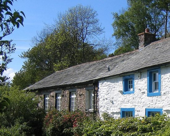 Lowthwaite B & B: Lowthwaite in the summer