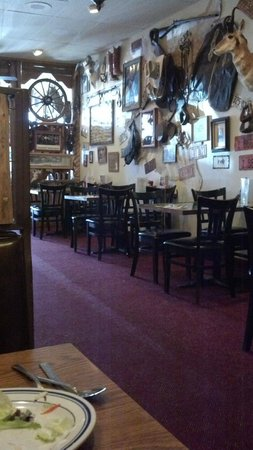 Lone Spur Cafe:                   A view from our table.