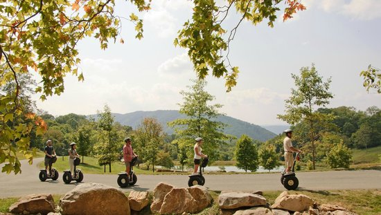 The Omni Homestead Resort: Segway Tours