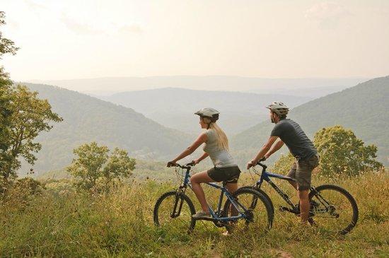 The Omni Homestead Resort : Mountain biking