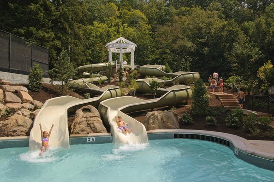 The Omni Homestead Resort: Allegheny Springs Water Slides