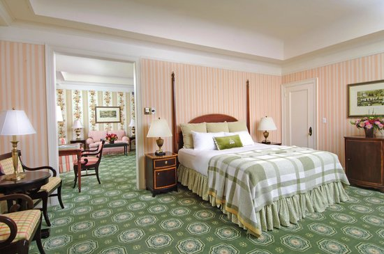 The Omni Homestead Resort: Guest room