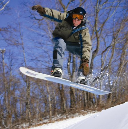 The Omni Homestead Resort: Snowboarding