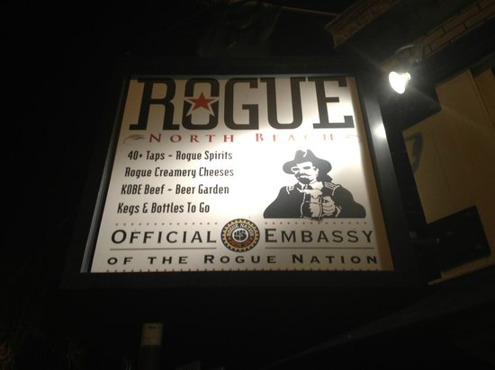 Rogue Ales Public House: You know your here when you see!