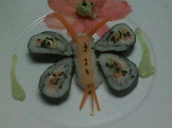 Hostal El Lago Pedasi:                   sushi