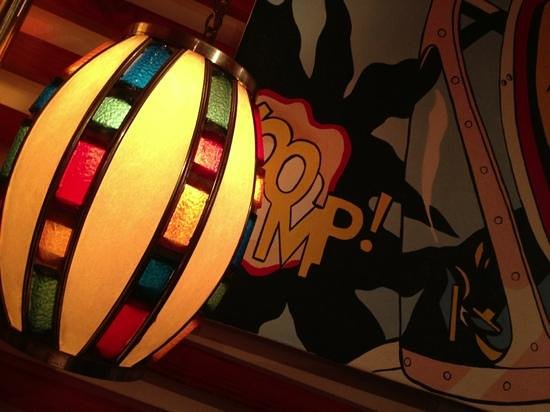 Pizzakaya Roppongi: funky decor
