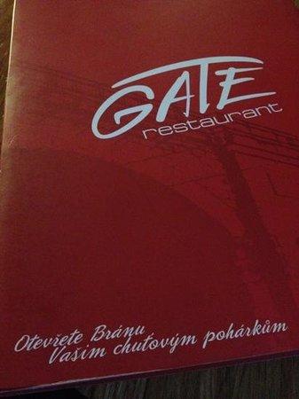 Gate Restaurant:                   gate ~